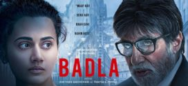 Badla (2019) Hindi Movie 720p HDRip 700MB ESubs Download