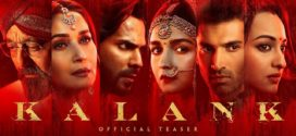 Kalank (2019) Hindi Movie 720p DVDScr 700MB Download
