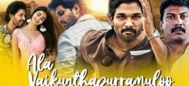 Ala Vaikunthapurramuloo 2021 Hindi Dubbed Movie 720p HDRip 1.7GB | 400MB x264 AAC